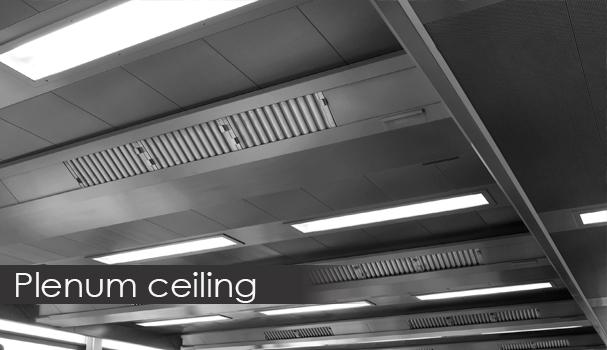 plenum ceiling