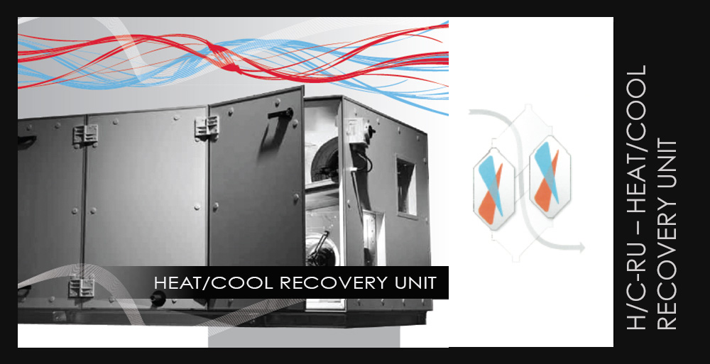 H/C-RU – HEAT/COOL RECOVERY UNIT