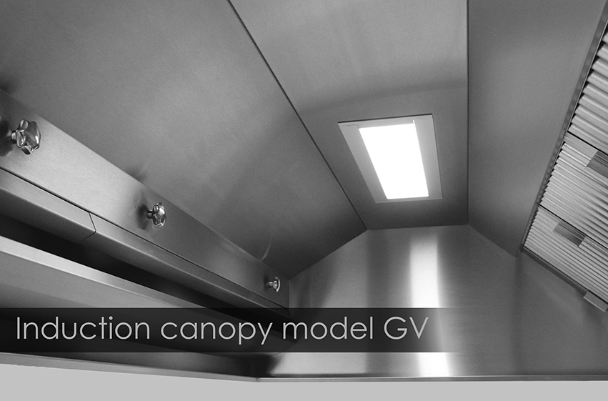 Induction canopy model GV